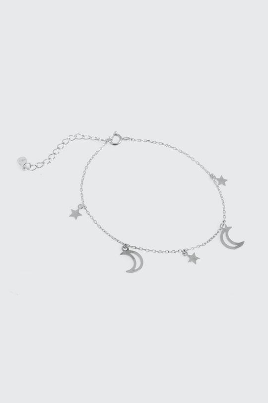 Answear Lab - Bransoletka srebrny