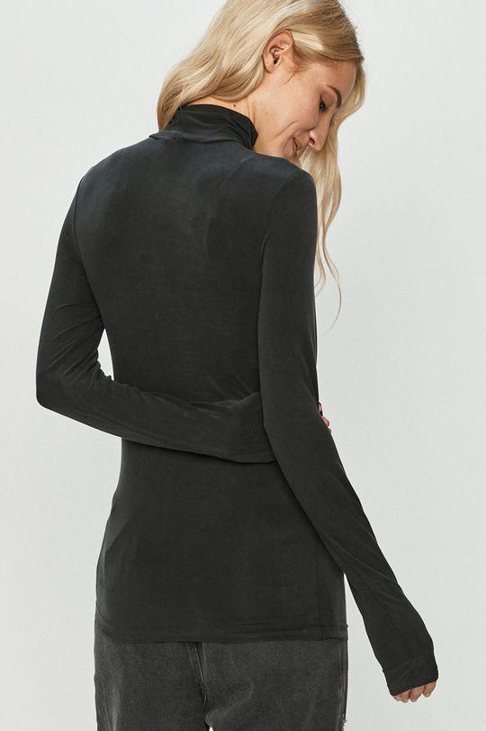 Answear Lab - Tričko s dlouhým rukávem  5% Elastan, 95% Cupro