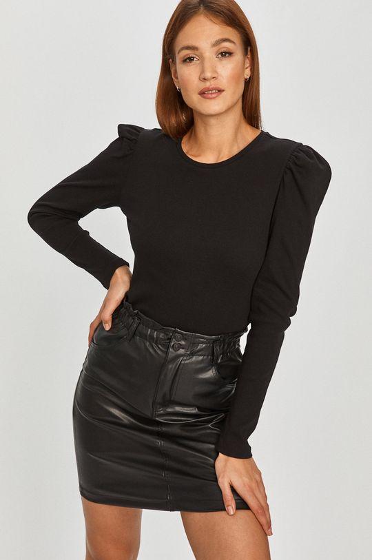 čierna Answear Lab - Tričko s dlhým rukávom Dámsky