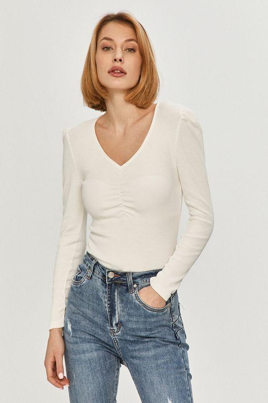 biela Answear Lab - Tričko s dlhým rukávom Dámsky