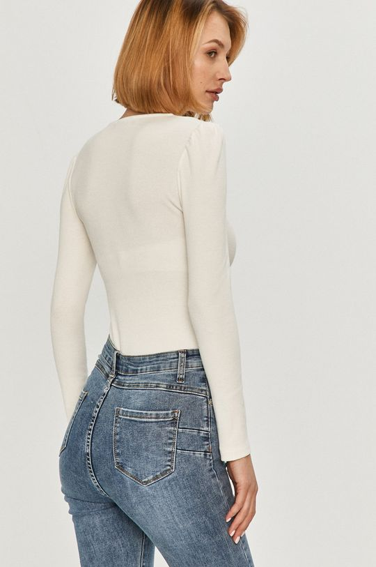 Answear Lab - Tričko s dlhým rukávom  95% Bavlna, 5% Elastan