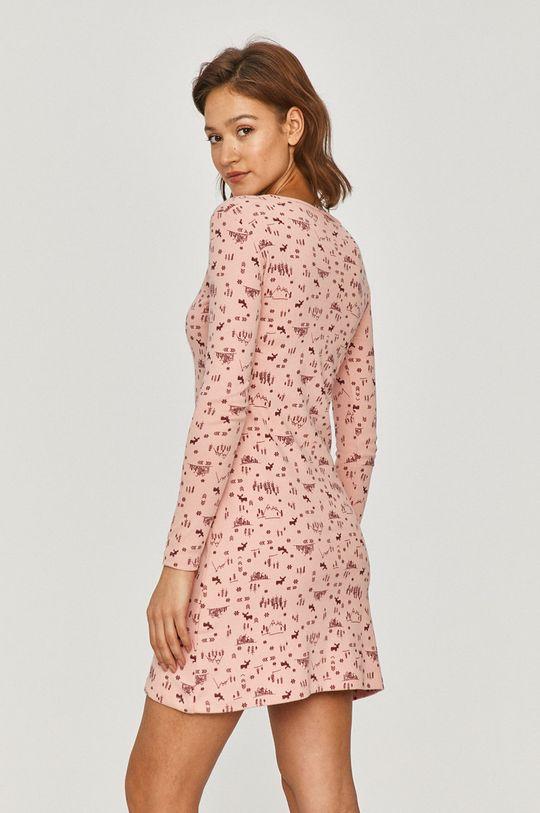 Answear Lab - Koszula nocna różowy