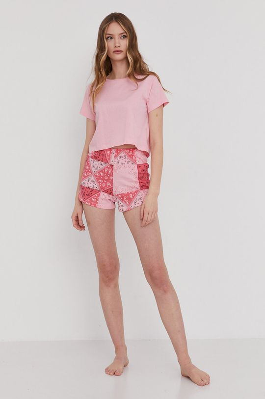 Answear Lab - Piżama różowy