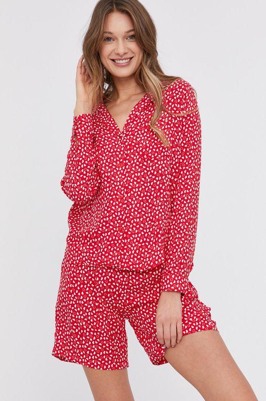 červená Answear Lab - Pyžamo Dámský