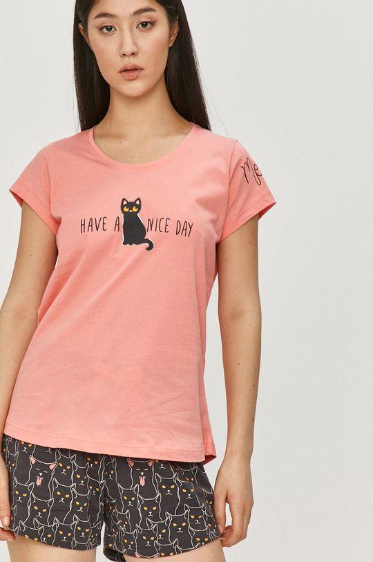 růžová Answear Lab - Pyžamo Dámský