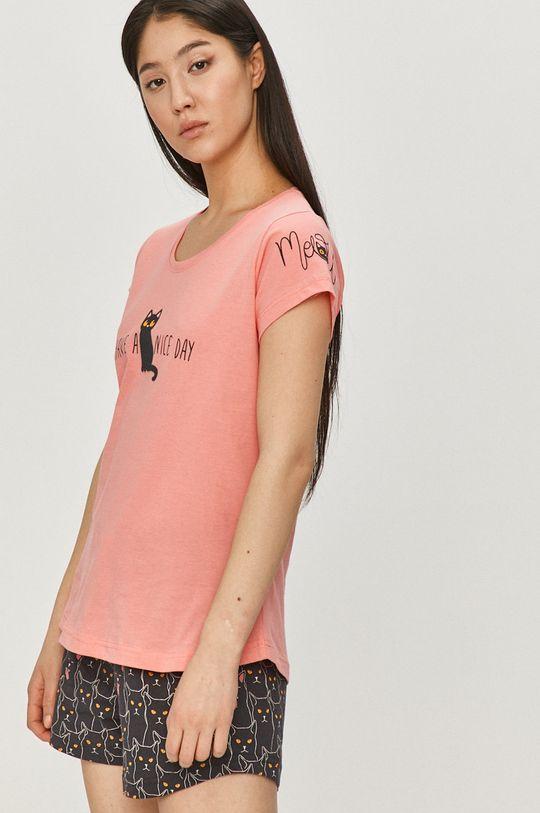 Answear Lab - Pyžamo růžová