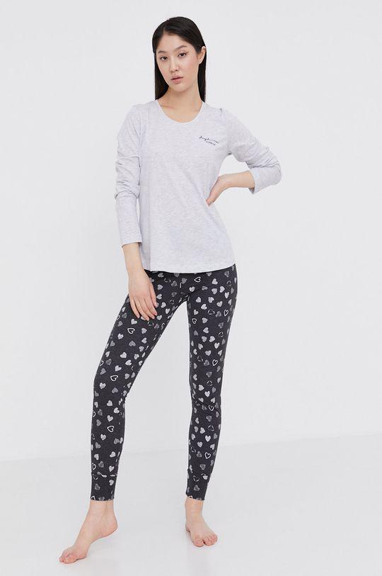 Answear Lab - Piżama szary