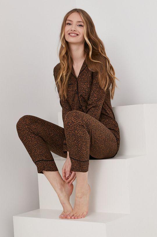 Answear Lab - Piżama brązowy