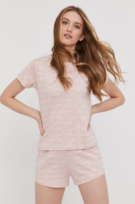 roz pastelat Answear Lab - Pijama De femei