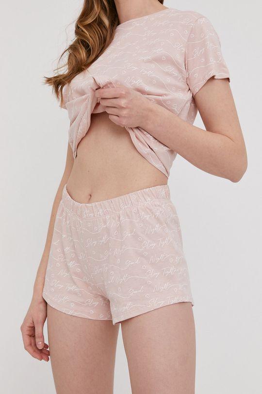 Answear Lab - Pijama roz pastelat