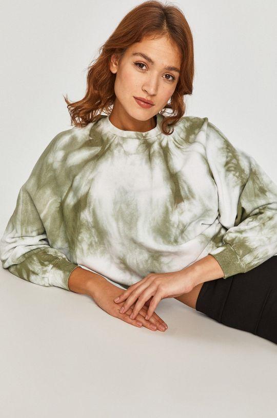 zielony Answear Lab - Bluza bawełniana Damski