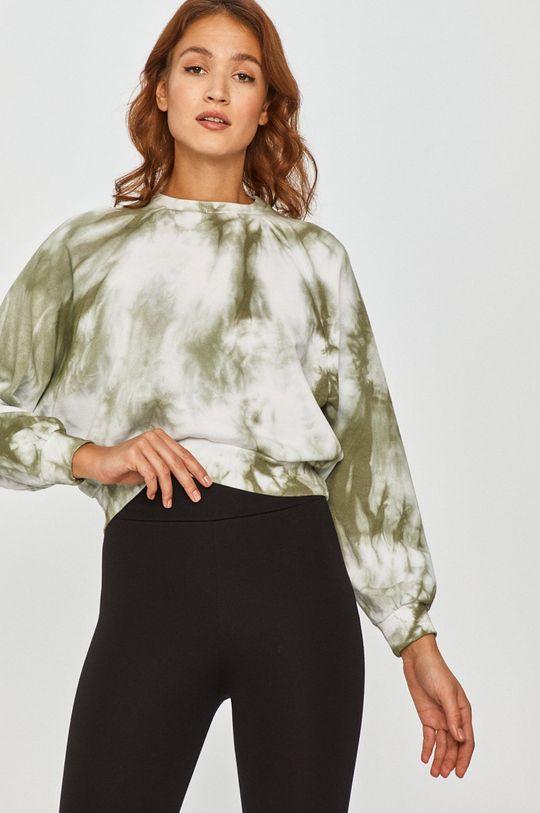 zielony Answear Lab - Bluza bawełniana