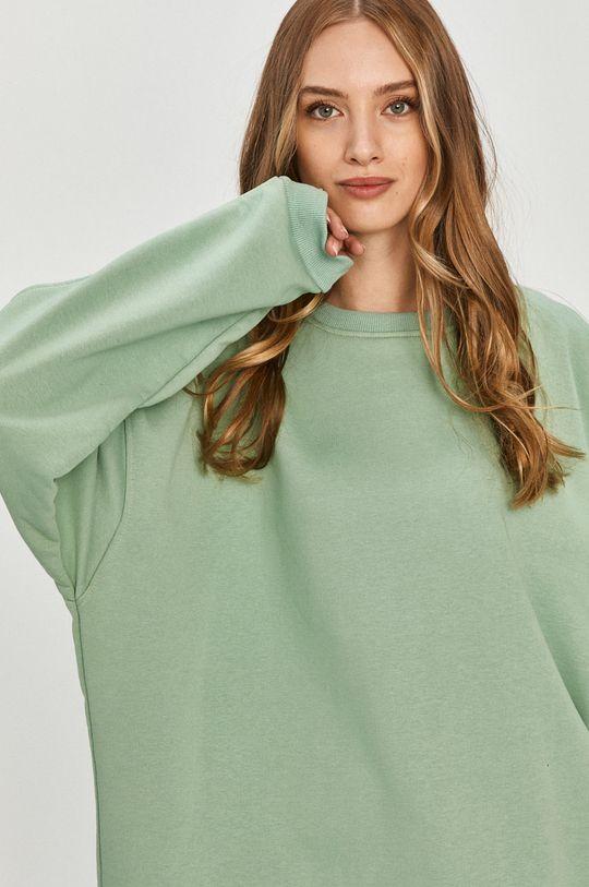 miętowy Answear Lab - Bluza bawełniana