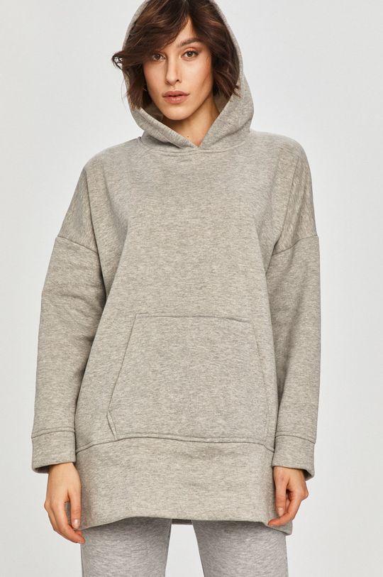 szary Answear Lab - Bluza bawełniana
