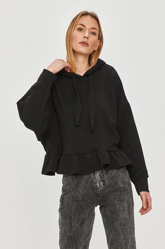 czarny Answear Lab - Bluza bawełniana