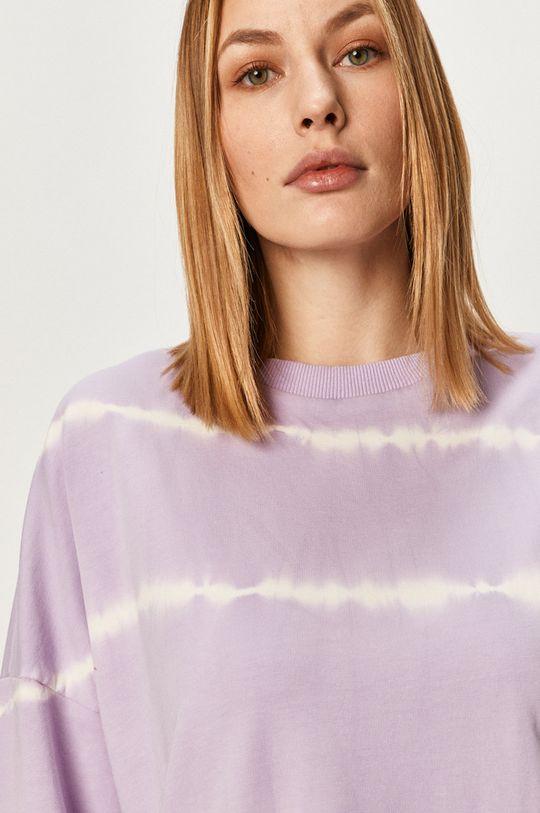 fialová Answear Lab - Bavlnená mikina