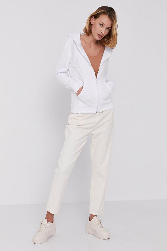 Answear Lab - Bluza biały