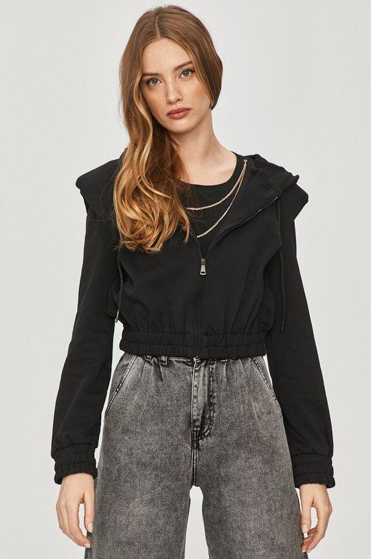 czarny Answear Lab - Bluza bawełniana Damski