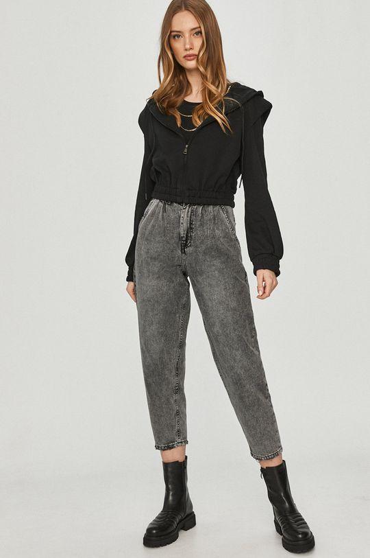 Answear Lab - Bluza bawełniana czarny
