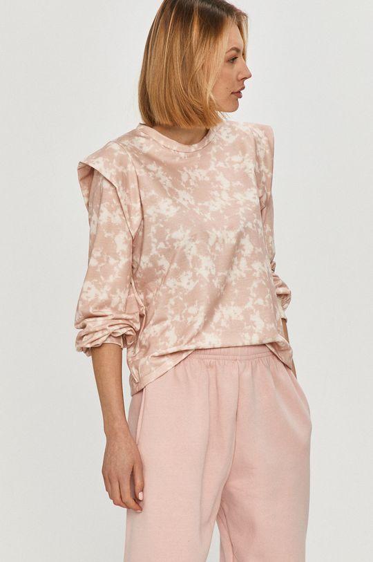 růžová Answear - Mikina
