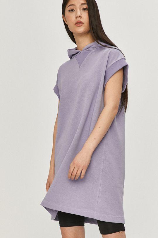 lawendowy Answear Lab - Bluza bawełniana