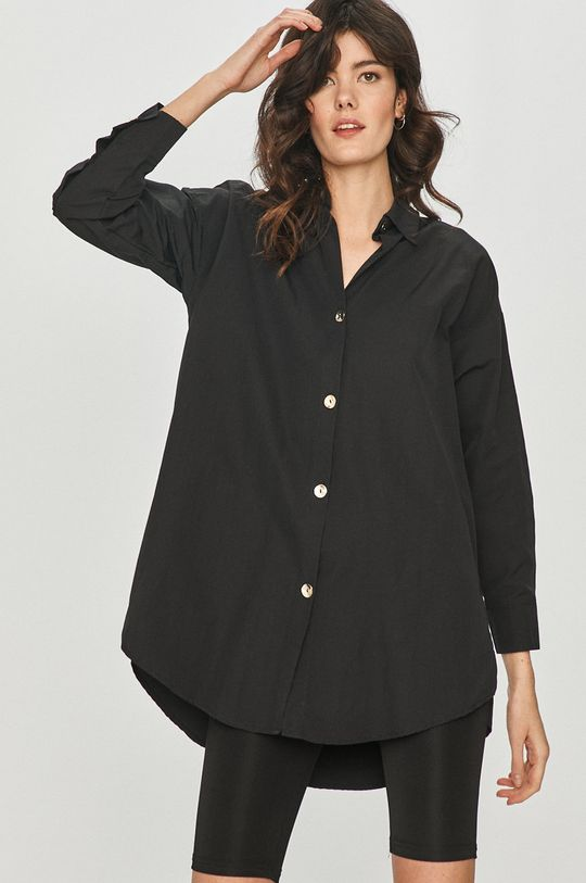 czarny Answear Lab - Koszula