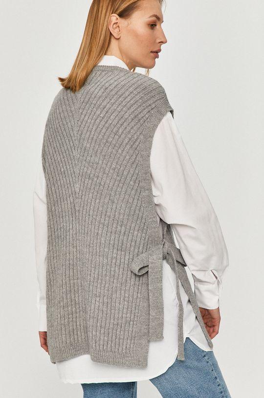 Answear Lab - Košeľa so svetrom  80% Bavlna, 20% Polyester