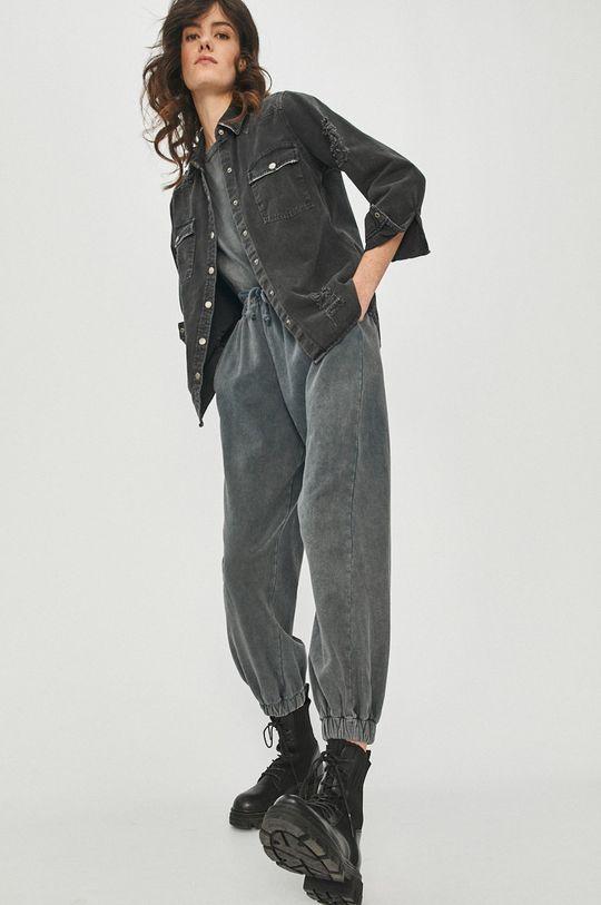 negru Answear Lab - Camasa jeans De femei