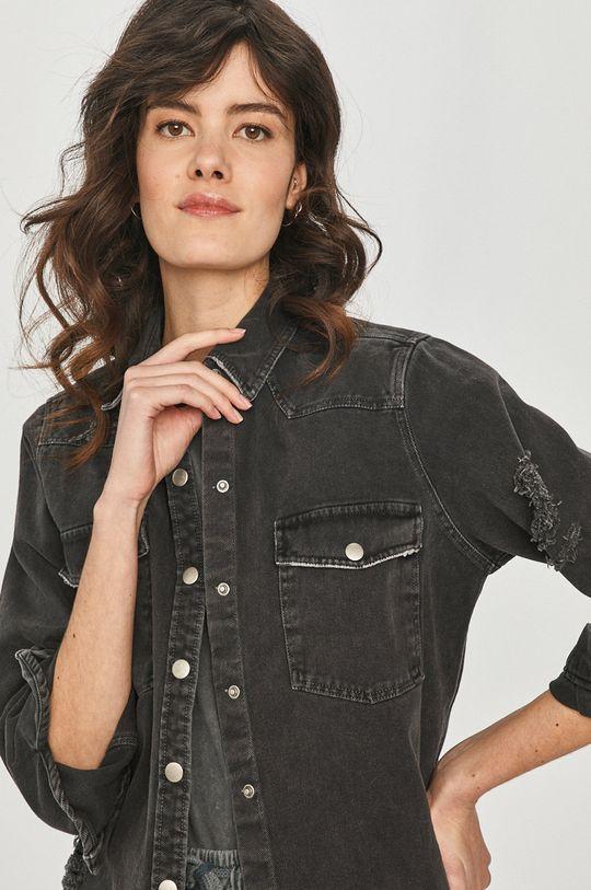 negru Answear Lab - Camasa jeans