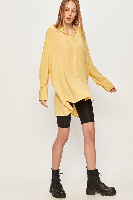 Answear Lab - Koszula żółty