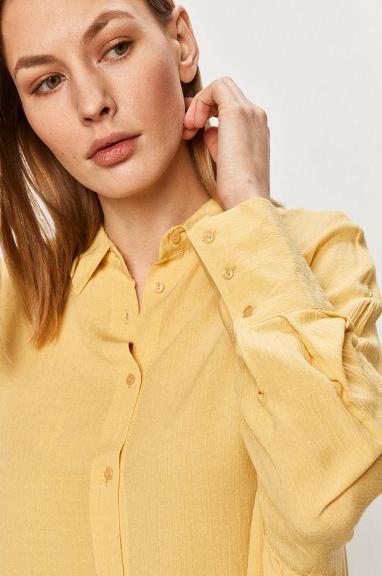 żółty Answear Lab - Koszula