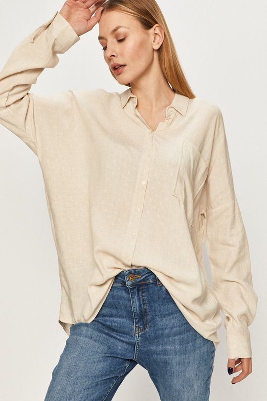 béžová Answear Lab - Košile