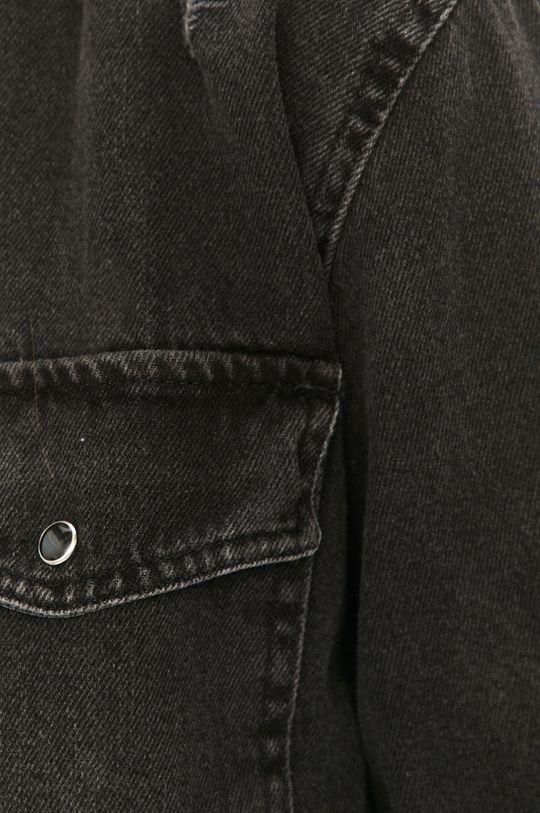Answear Lab - Džínová košile šedá