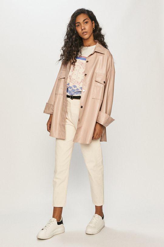 różowy Answear Lab - Koszula Damski