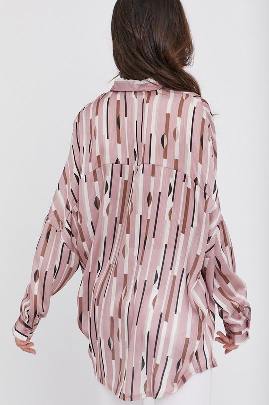 różowy Answear Lab - Koszula