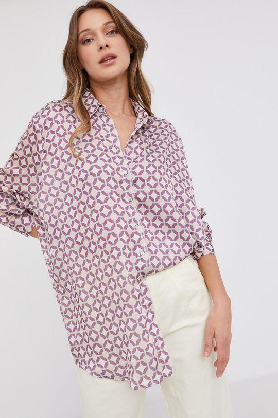 vícebarevná Answear Lab - Košile