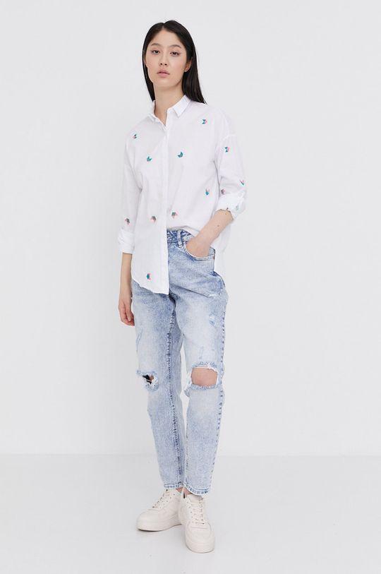Answear Lab - Bavlněná košile  100% Bavlna