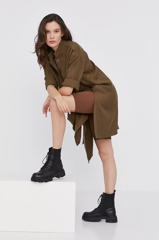 militarny Answear Lab - Sukienka Damski