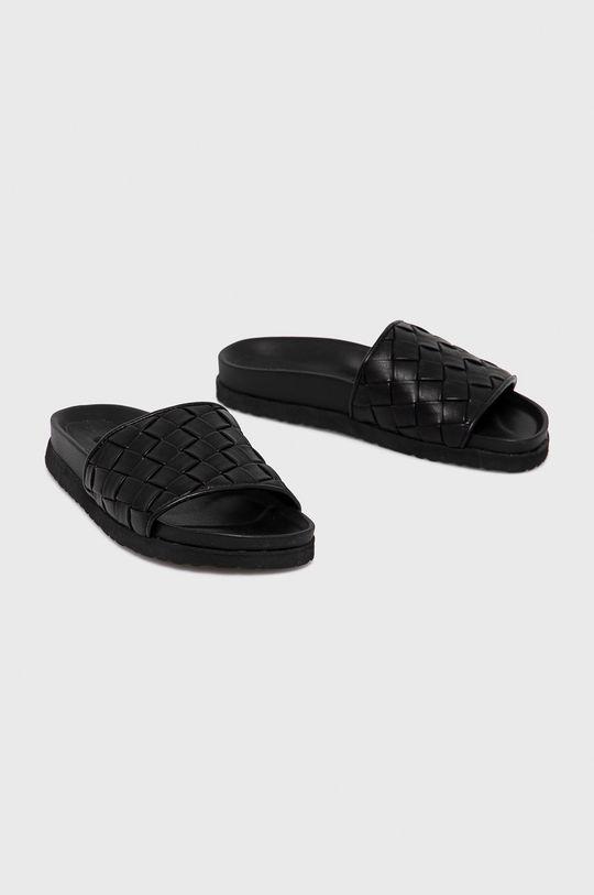 Answear Lab - Šľapky čierna
