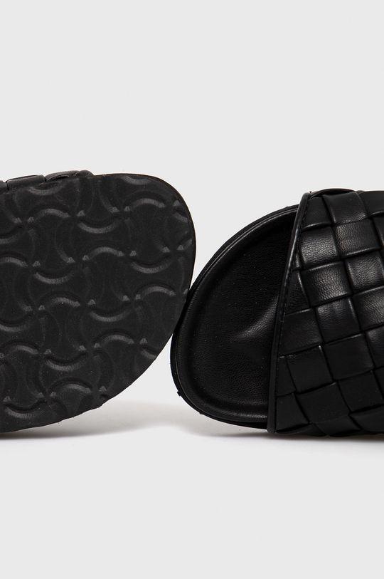 čierna Answear Lab - Šľapky