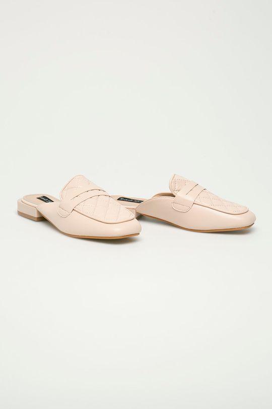 Answear Lab - Klapki Sweet Shoes beżowy