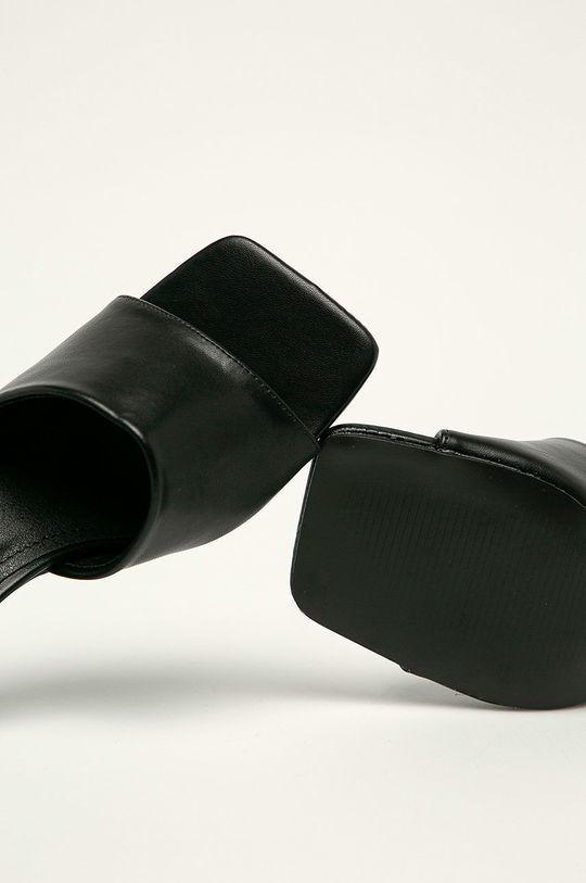 čierna Answear Lab - Šľapky Sweet Shoes