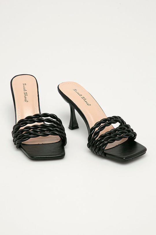 Answear Lab - Pantofle Sweet Shoes černá