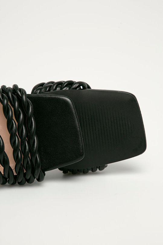 černá Answear Lab - Pantofle Sweet Shoes