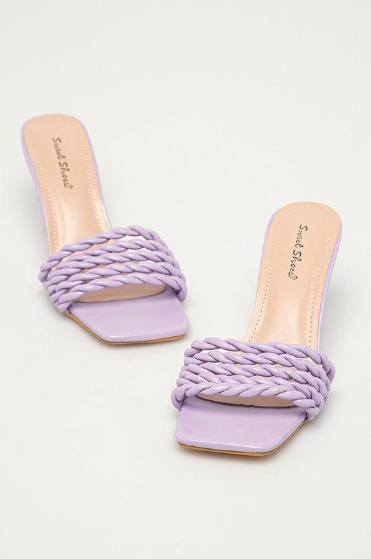 Answear Lab - Pantofle Sweet Shoes levandulová