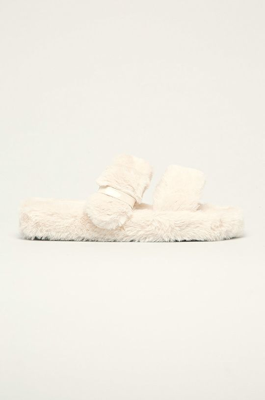 béžová Answear Lab - Pantofle Sweet Shoes Dámský