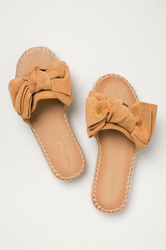 Answear Lab - Šľapky Sweet Shoes  Zvršok: Textil Vnútro: Syntetická látka Podrážka: Syntetická látka