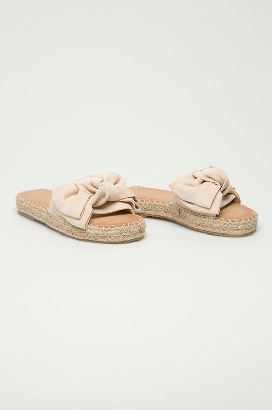 Answear Lab - Pantofle Sweet Shoes béžová