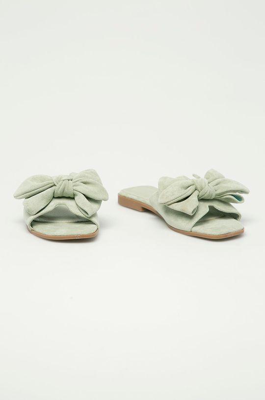 Answear Lab - Šľapky Sweet Shoes mätová