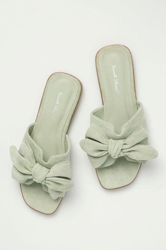 mätová Answear Lab - Šľapky Sweet Shoes
